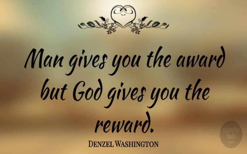 Rewards and Awards