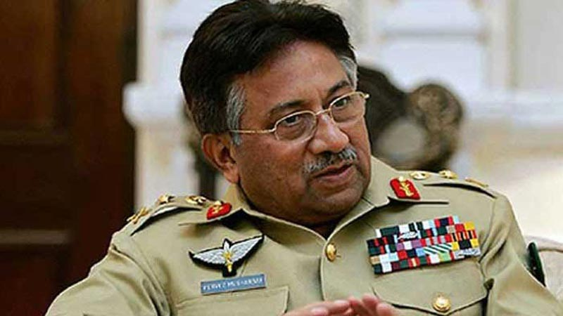 Musharraf Ex Army Chief and President