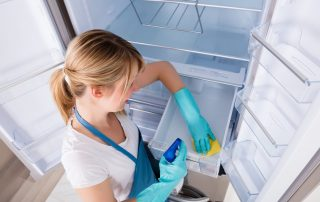 cleaning and disinfect your refrigerator