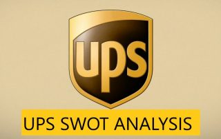 SWOT Analysis of UPS