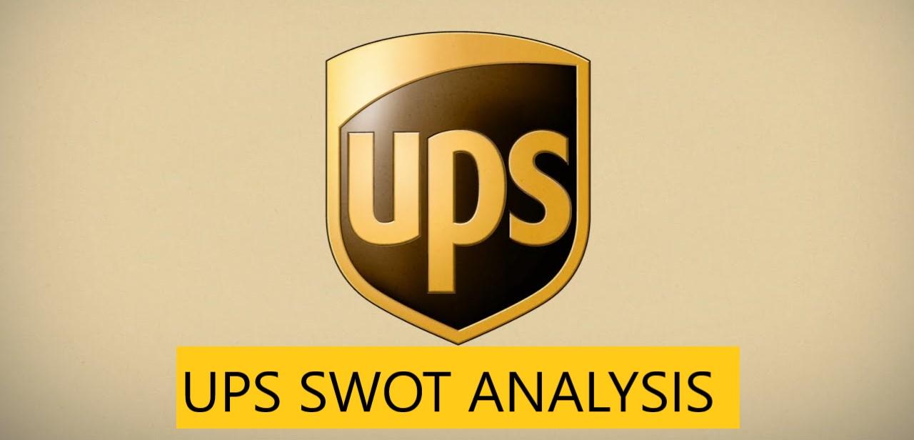 SWOT Analysis of UPS